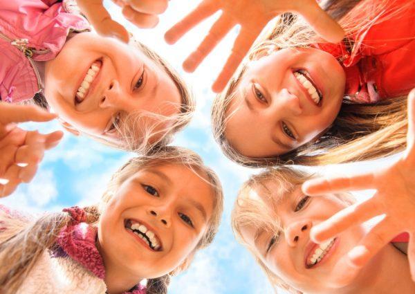 ילדים שמחים